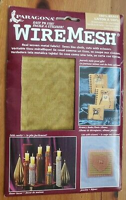 Wire Form Modeling Wire Mesh For Crafts Copper new in package, Paragona.