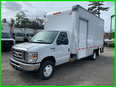 "2013 Ford E-350 SD Cutaway 16 Foot X 91"" X 96"" Gas Engine, Lift Gate, Low Miles"