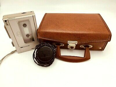 Panasonic RQ-353 Vintage Cassette Recorder Player w/ Carry Case + Adapter TESTED