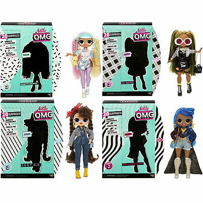 LOL Surprise OMG Series 2 Doll Candylicious Alt Grrrl Busy B.B. Miss Independent
