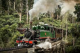 Puffing Billy Train Melbourne  Entertainment Book Voucher 2019/2020