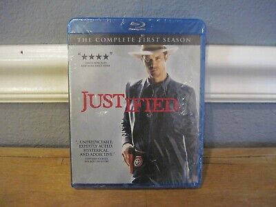 Justified - The Complete First Season [Blu-ray] New and Factory Sealed!!