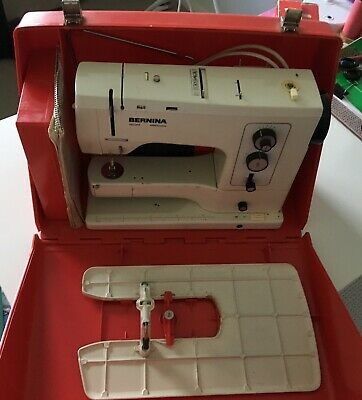 Classic Bernina 830 Record Electronic Sewing Machine, Hard Case With Accessories