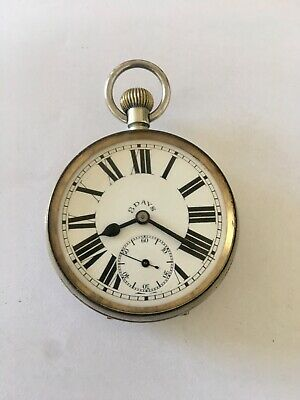 Antique 8 Day Heavy Pocket  Watch