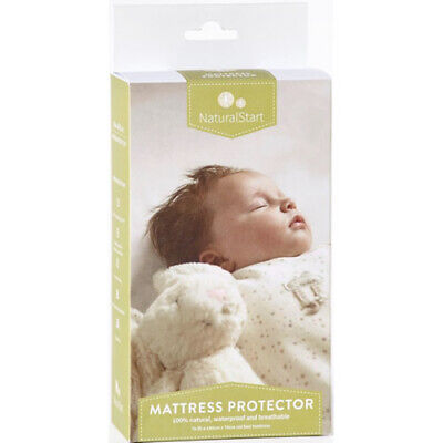 Harrison Spinks Natural Start Cotbed Mattress Protector