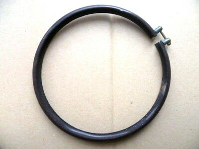 Ring Enamel, Necklace Clamping Brown New Hose Humbug, Frying Wood 140 MM