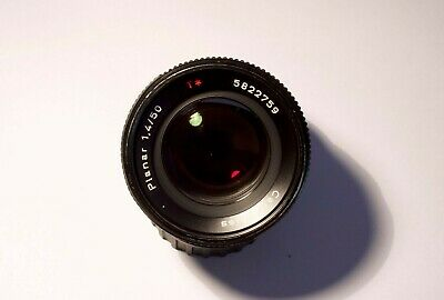 Carl Zeiss 50mm f1.4 planar