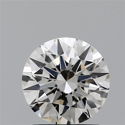 0.70 CT Labo Grown Desseré Diamants I / VS2 Coupe Ronde Qualité Diamant