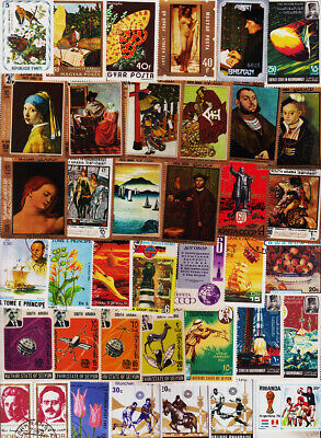 Top Class Worldwide 1500 All Different Used Stamps Collection Lot #K1101