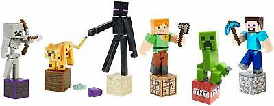 Minecraft Comic Maker 3.25-Inch Action Figures - Combined postage