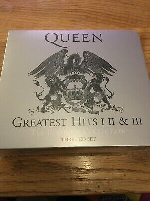 Queen, Greatest Hits I II & III: The Platinum Collection CD New Sealed