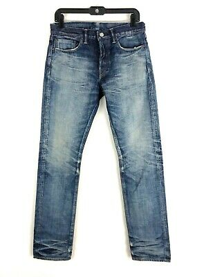 Fabric Brand & Co Denim FELIX Slim Fit SELVEDGE Jeans Made In Japan Size 29 NEW