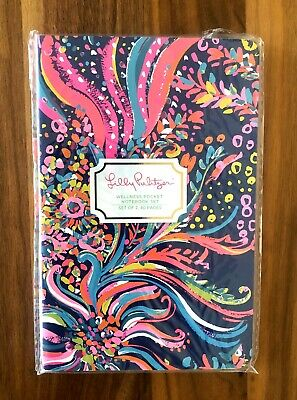 NWT Lilly Pulitzer Wellness Pocket Notebook Set Meal Planning & Activity Tracker