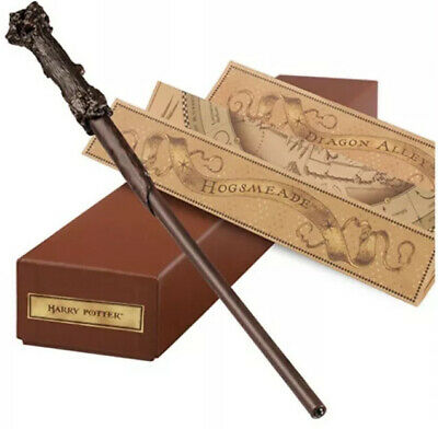 NEW Universal Studios Wizarding HARRY POTTER Harry's Interactive Wand with Map