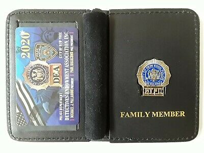 1 Authentic 2020 Dea Card W/ Leather Family Member Wallet Not Pba  Cea  Lba Sba