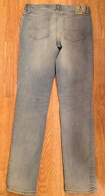 New with tag NWT Girls Ralph Lauren Polo Blue Capri Denim Jeans 12 Skinny 872