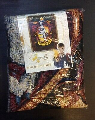 Woven Tapestry Thrown Harry Potter Gryffindor