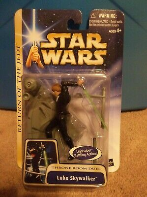 Star Wars AOTC ROTJ 03 #17 Luke Skywalker Throne Room Duel BRAND NEW NICE!
