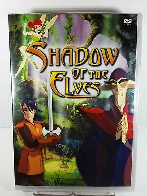 Shadow Of The Elves Animated (DVD 2005) RARE TV SERIES 3 EPISODES BRAND NEW