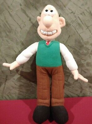 "Nanco 2009 Wallace and Gromit 12"" Plush"