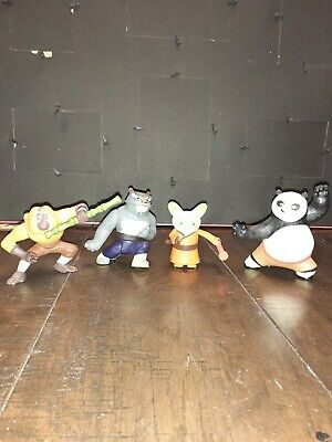 Kung Fu Panda Figures From 2008 Mcdonlds