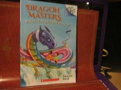 Dragon Masters: Waking the Rainbow Dragon 10 by Tracey West (2018, Paperback)