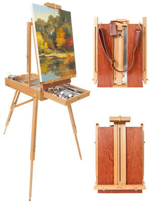 Paris Deluxe French Easel w/ Leather Carry Strap