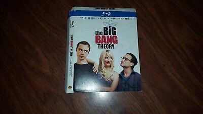 The Big Bang Theory Complete First Season 1 Bluray Slipcover Only slipcase
