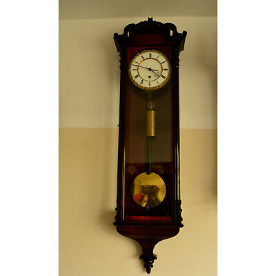 Biedermeier wall clock