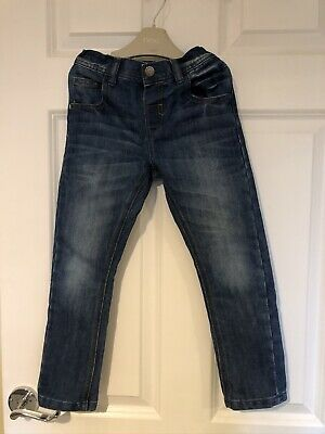 Next Boys Washed Jeans 4-5yrs