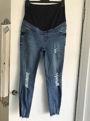 Maternity Over The Bump Jeans From New Look Size 12 Hardly Worn