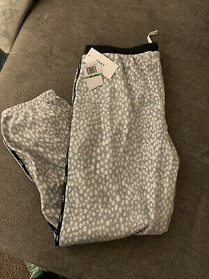 Womens Dkny Pajama Pants Size Large New With Tags
