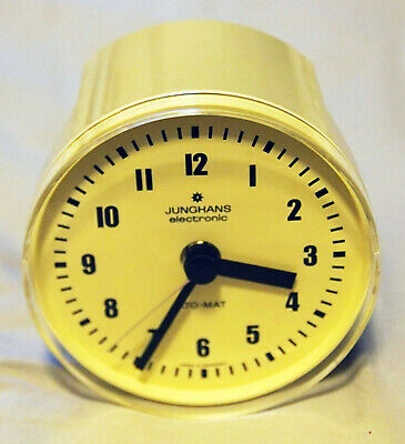Vintage Junghans ATO-MAT Kitchen Quartz Clock with 60 min Timer *MADE IN GERMANY