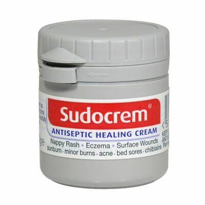 3 x SUDOCREM /SUDOCREAM 60g ANTISEPTIC HEALING CREAM NAPPY RASH/ ECZEMA/ SUNBURN