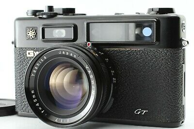 【AS-IS Appearance Mint】 Yashica Electoro 35 GT Rangefinder 45mm f1.7 From Japan