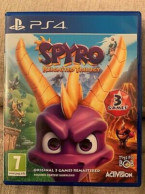 Spyro Reignited Trilogy PS4 PlayStation 4