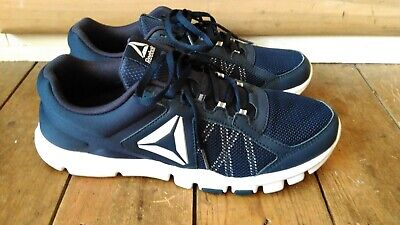 Reebok Yourflex Train 9.0 MT Men's UK Size 8 Shoes Sneakers Navy/White Trainers