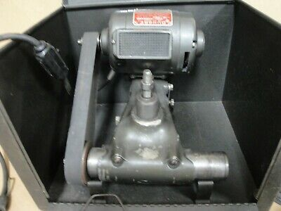 Dumore Cat No. 7-011 Tool Post Grinder 3/4 HP 115 VAC with box and accessories