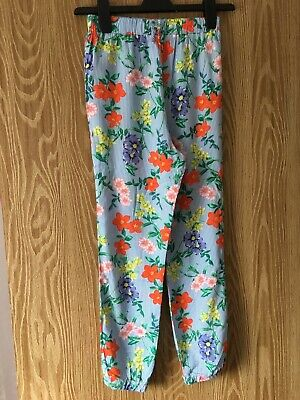 Girls Tu Patterned Trousers Age 9 Yrs