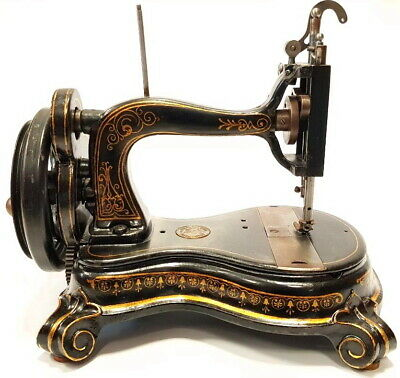 AWESOME! very rare Antique sewing machine EMPRESS 1871 GERMANY