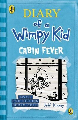 Diary of a Wimpy Kid: Cabin Fever (Book 6) MINT Kinney Jeff