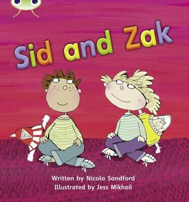 Bug Club Phonics Bug Set 07 Sid and Zak MINT Sandford Nicola