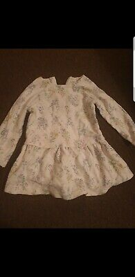 Cute Girls next long sleeved jumper Dress 18-24 months