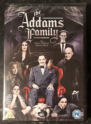 The Addams Family Dvd 1991 Brand New & Factory Sealed Mint Condition