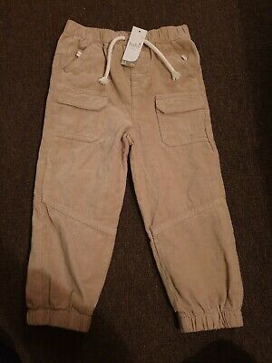 Boys soft feel lined Trousers age 2-3 years new with tags