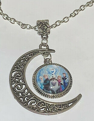 Disney Frozen Cabochon Necklace NEW USA Shipped from California