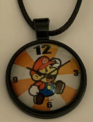 Mario Brothers Cabochon Necklace NEW USA Shipped from California