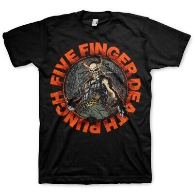 Five Finger Death Punch Seal Of Ameth Shirts S M L XL XXL Official T-Shirt