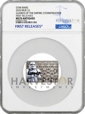 2020 Star Wars - Guards Of The Empire - Stormtrooper - Ngc Ms70 First Releases