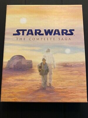 Star Wars: The Complete Saga (9-Disc Collection) Blu-ray Pre-Owned 2011 Releas